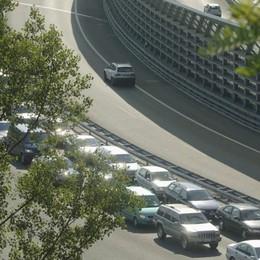 Ponte dell'Ascensione  Traffico verso l'Italia