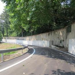 Crollo di un muro, burocrazia e lavori  Via Taverna riapre dopo due anni