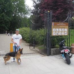 Erba, il parco Majnoni apre ai cani  Cancellato il divieto di ingresso