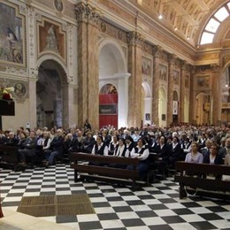 Monsignor Busti celebra la Talamoni  «Qui c'è misericordia»