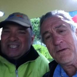 Robert De Niro a Como  Spot in centro e Villa d'Este