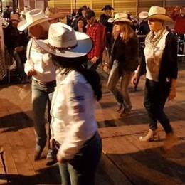 Cowboy a raduno  a Imbersago