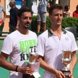 Lo smash di Lorenzo Frigerio  Successo nell'Open di Lecco