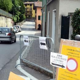 La fognatura di Galbiate è da aggiustare  Centro storico chiuso per una settimana