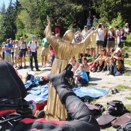 Al Lago Palù preghiere e un ricordo speciale per i terremotati