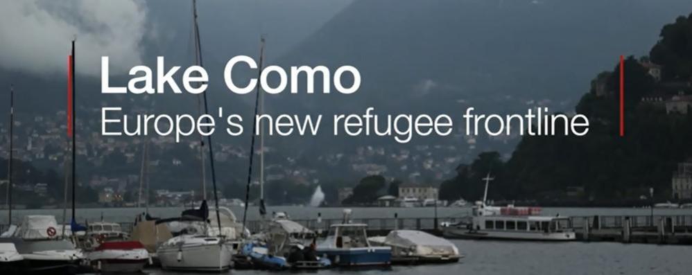 Migranti, anche la Bbc parla di Como