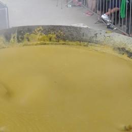 Erve. Festa della polenta   con il mais della Val San Martino