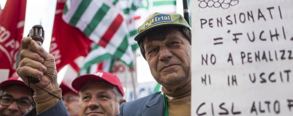 Lecco. «Sulle pensioni  Trattativa ben avviata»