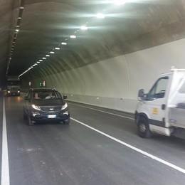 Aperto al traffico il tunnel di Pusiano