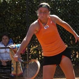 Torneo di Villadolid in Spagna  Anna Turati accarezza la finale
