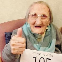 Nonna Francesca, 105 anni  E non sbaglia una tabellina