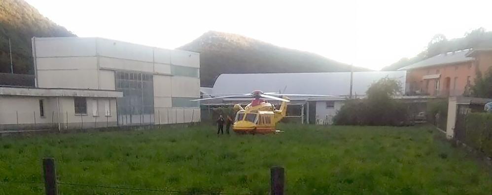 Canzo, tragedia alla  Marmi  Valbrona  Fabbro muore nel crollo dell'impalcatura
