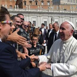 Il Corpo musicale Santa Cecilia  suona in Vaticano e incontra il Papa