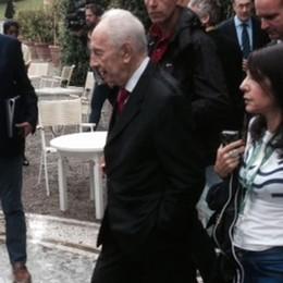 Addio a Shimon Peres  grande amico del lago di Como