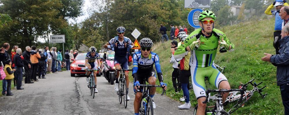 Il Lombardia torna a Valcava  Grande attesa nel Lecchese