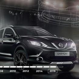 Nissan Qashqai compie 10 anni  E' stato il primo crossover