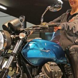 Moto Guzzi e Domino  alla fiera di Verona