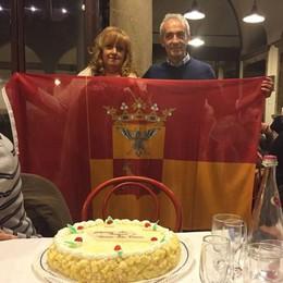 La bandiera di Bergamo  sventola già sopra Torre