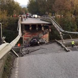 Ponte crollato sulla Super 36  Nessuno pensa a ricostruirlo