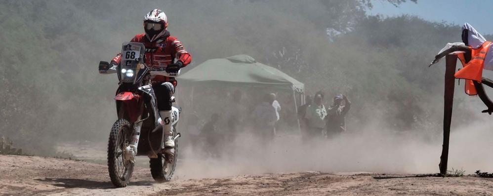 Un grande Agazzi alla Dakar  Guadagna altre sei posizioni