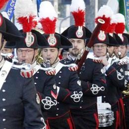 La Fanfara dei carabinieri  Uno spettacolo in centro