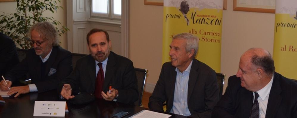 Premio Manzoni alla carriera Vince l'antica Roma di Manfredi