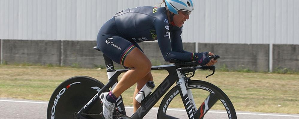 Campionati europei su pista  Silvia Valsecchi con le azzurre