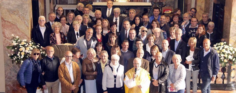 Malgrate. Festa d'anniversario   di ottanta coppie