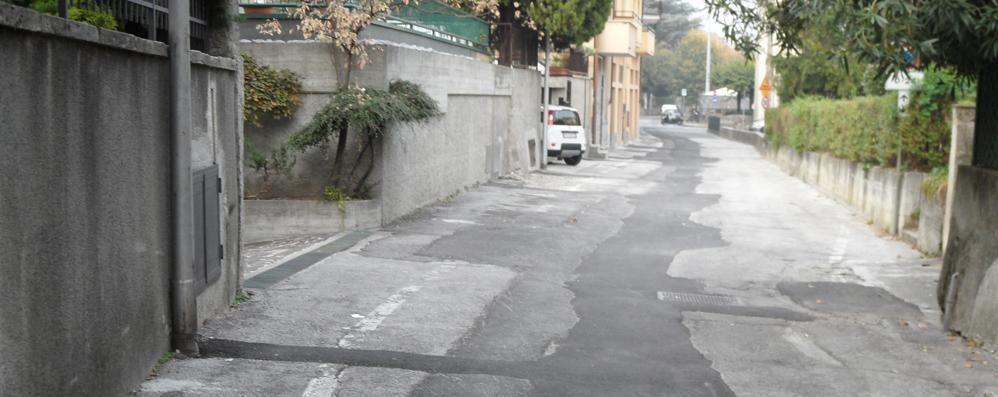"""Acquedotto, altri scavi a Valmadrera  In centro settimane da """"Bollino rosso"""""""