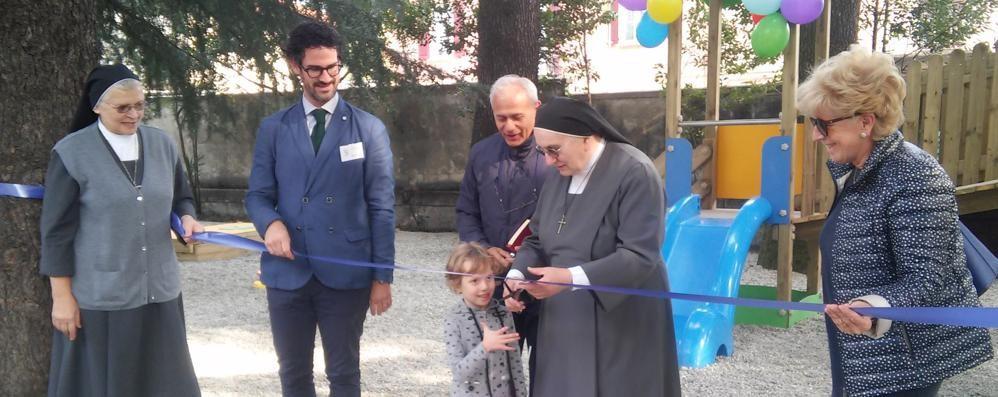 """""""Il Villone"""" ,  nuovo parco giochi  grazie alle famiglie"""