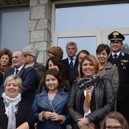 L'asilo intitolato a Cariboni   Festa con il paese
