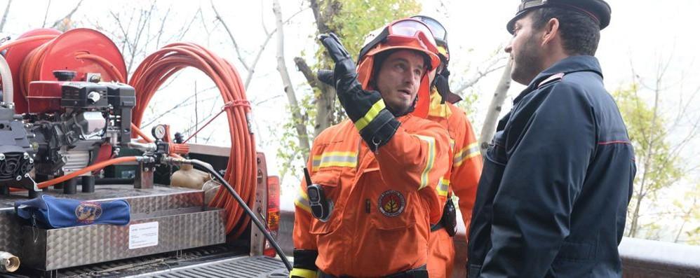 Incendio: dopo Forcola ora allarme a Tartano