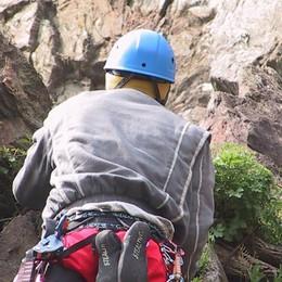 Tredici nuove vie di arrampicata  La Sassella si prepara per i lavori