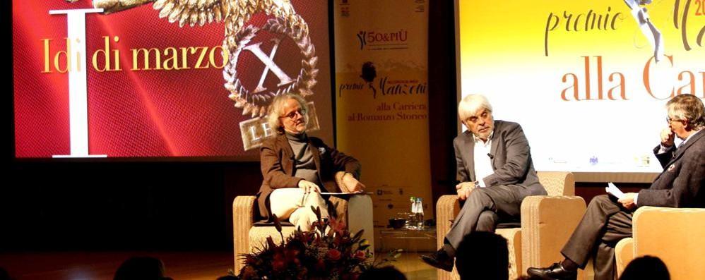 A Manfredi il Premio Manzoni  «L'Innominato? Più cattivo»