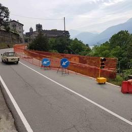 Provinciale a senso unico da sette mesi  In arrivo 400mila euro da Villa Locatelli