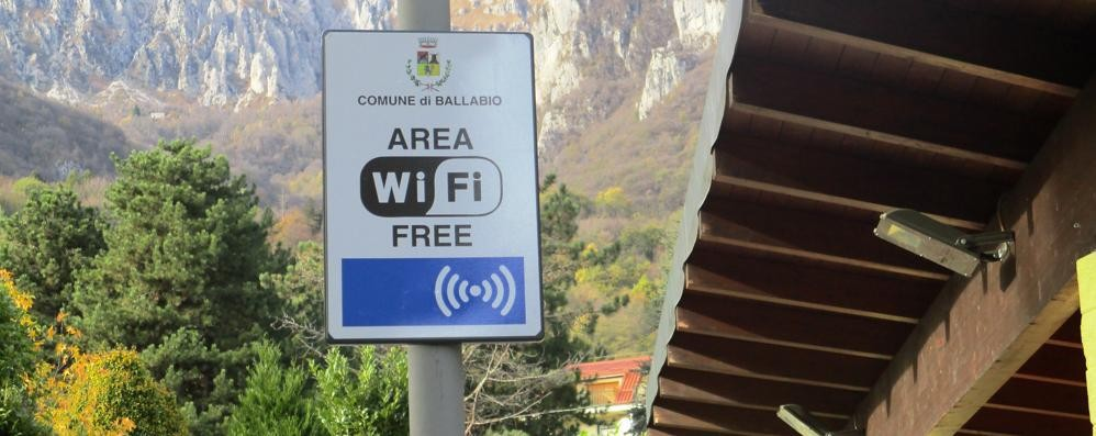 A Ballabio più luce   e internet gratis
