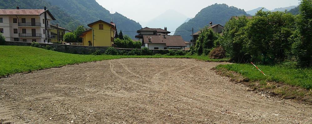 Una pista d'allenamento a Prà di Baster  Donata dal patron delle acque minerali
