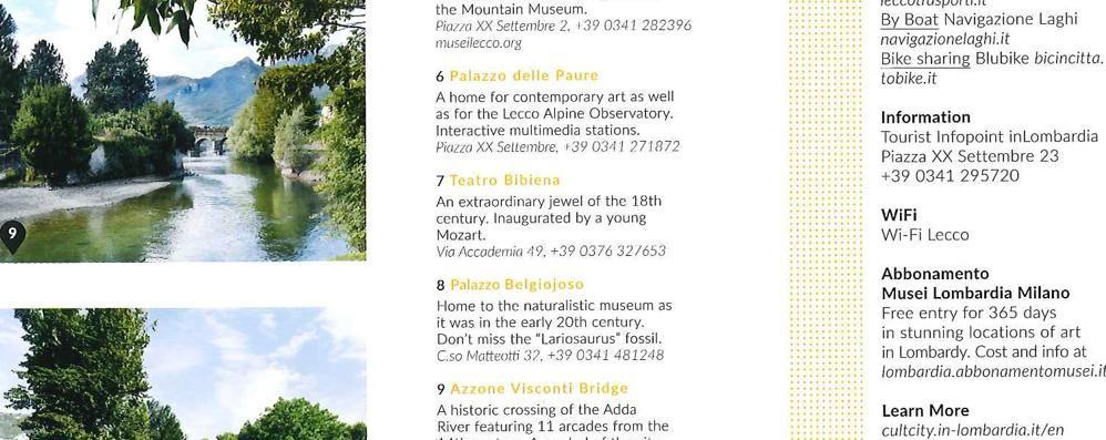 Cartina piena di errori  Il Teatro Bibiena è a Lecco?