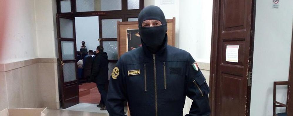 A Oggiono il Comandante Alfa  E con un giudice legalità e corruzione