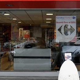 """L'ultimo """"cliente"""" un rapinatore  Via dal market di Barzago con 350 euro"""