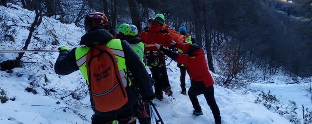Trovato morto l'escursionista disperso  Spirato l'alpinista caduto sul Grignone