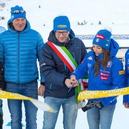 Livigno città dello sport. Con la Biathlon Arena «si amplia l'offerta»