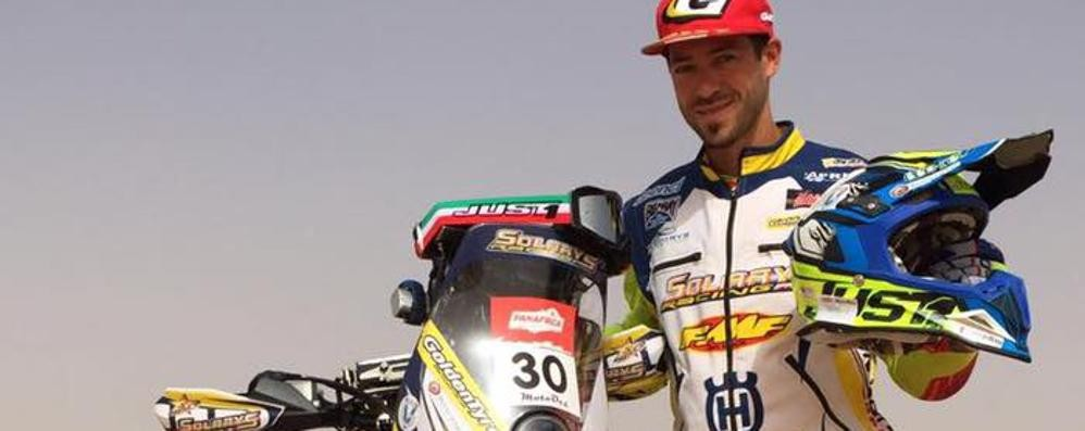«Il mio sogno,   dare gas alla Dakar»