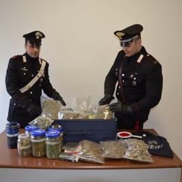 Scatta il blitz antidroga, due arresti  Recuperati quattro chili di marijuana