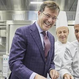 Nuova cucina, Villa d'Este investe  due milioni di euro