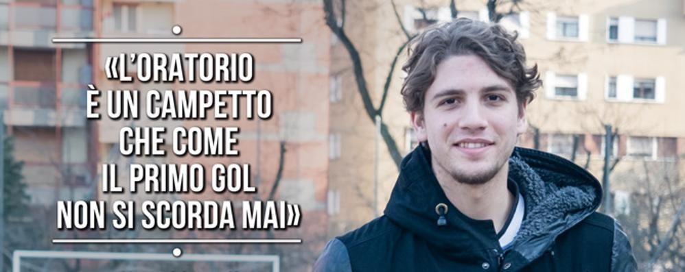 Locatelli, assist ai valori dell'oratorio  «È il primo gol che non si scorda mai»