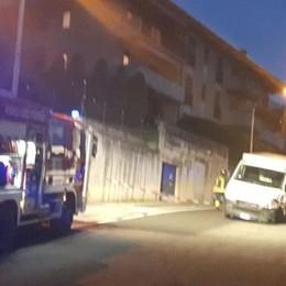 Galbiate, moto contro furgone Monzese grave in ospedale