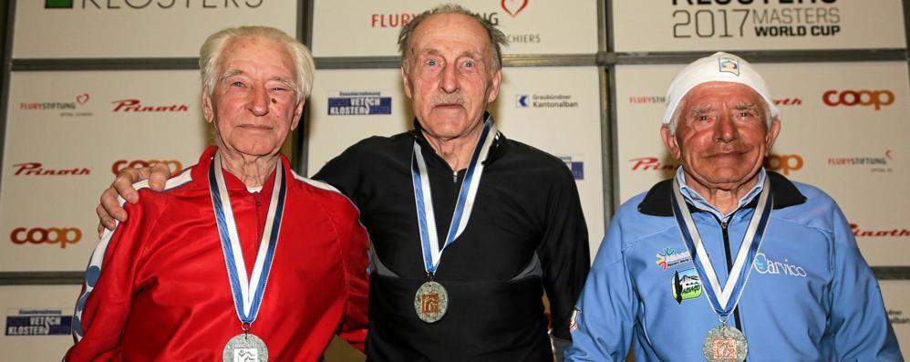 Nonno Gianola colpisce ancora  Bronzo mondiale tra gli over 85