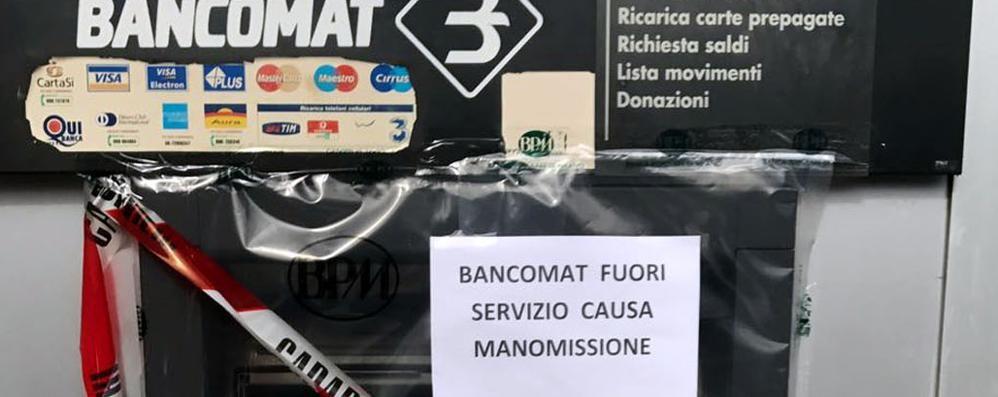 Tentato furto al bancomat  Ladri o hacker telematici?