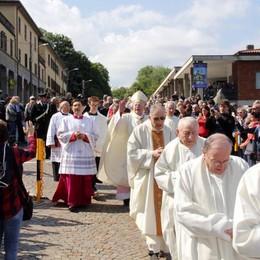 Il Santuario di Imbersago in festa  «Dopo 400 anni l'attualità del miracolo»
